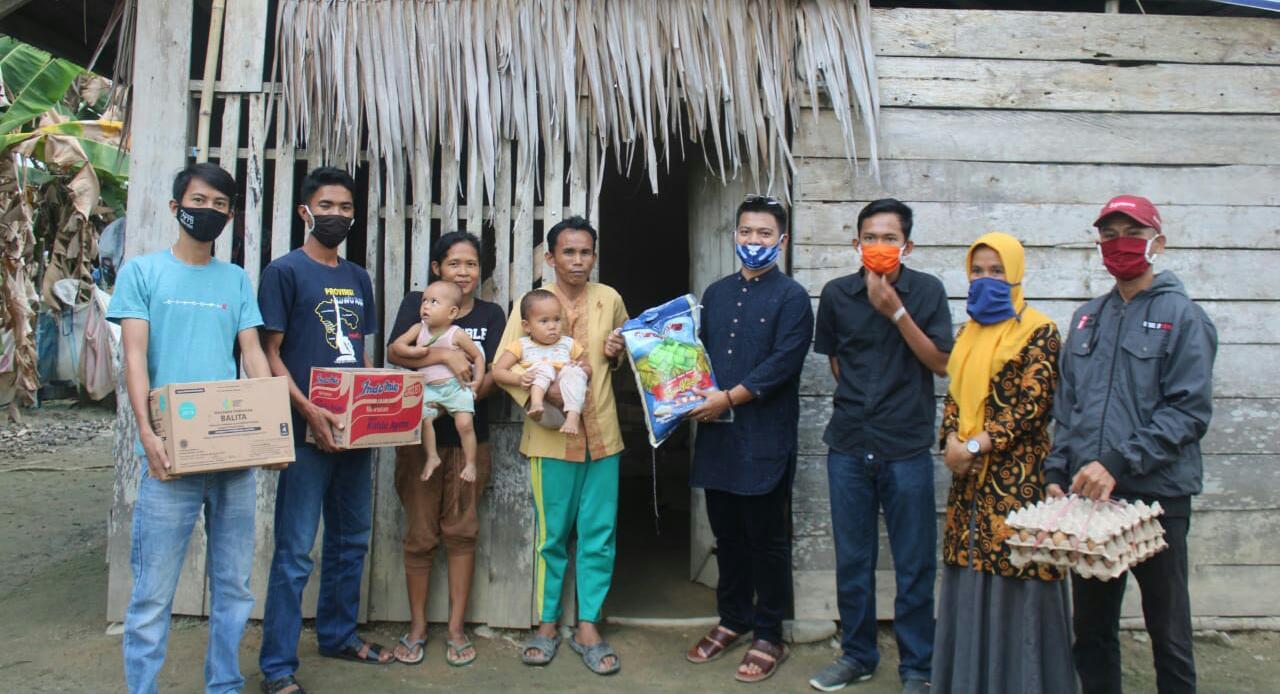 Dhevy Bijak Kunjungi Warga Tak Terdata PKH di Lamasi Timur