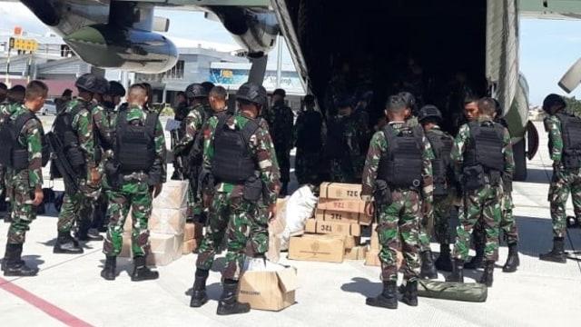 Pasukan Khusus Pemburu DPO MIT Poso Tiba di Palu